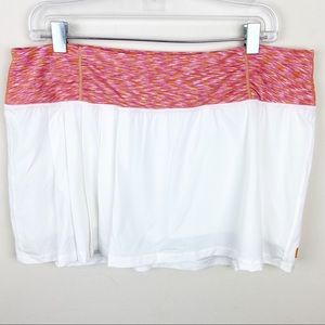 Lucy Tech White Tennis Running Skort Size XL